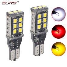 Bombilla LED Canbus T15 de 12V para coche, luces de marcha atrás de coche, sin Error, 921, 921, 912, 2835, 15 smd, 2 uds.