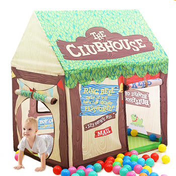 YARD Play Tent For Kids Castle House Cubby Foldable Baby Toy Tent Playhouse Outdoors Indoors Toy Kids Tent for Christmas Gift baby indoor playhouse baby folding portable beach castle tent toy house for baby gifts