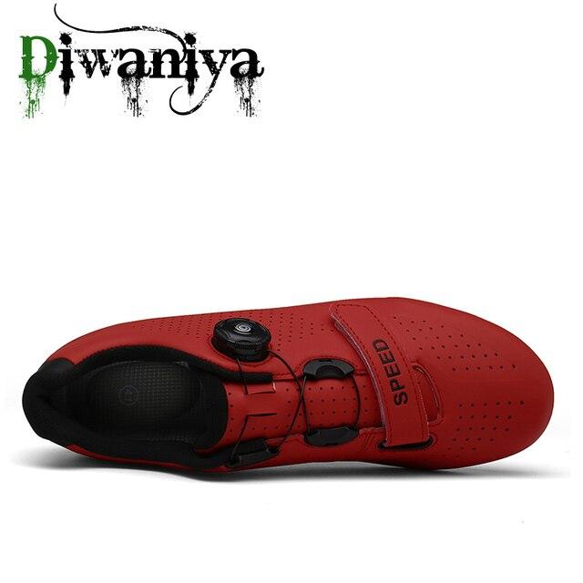 Sapatilhas de ciclismo mtb, sapatilhas para uso em bicicleta de montanha, autotravamento, original superstar, para homens e mulheres 2