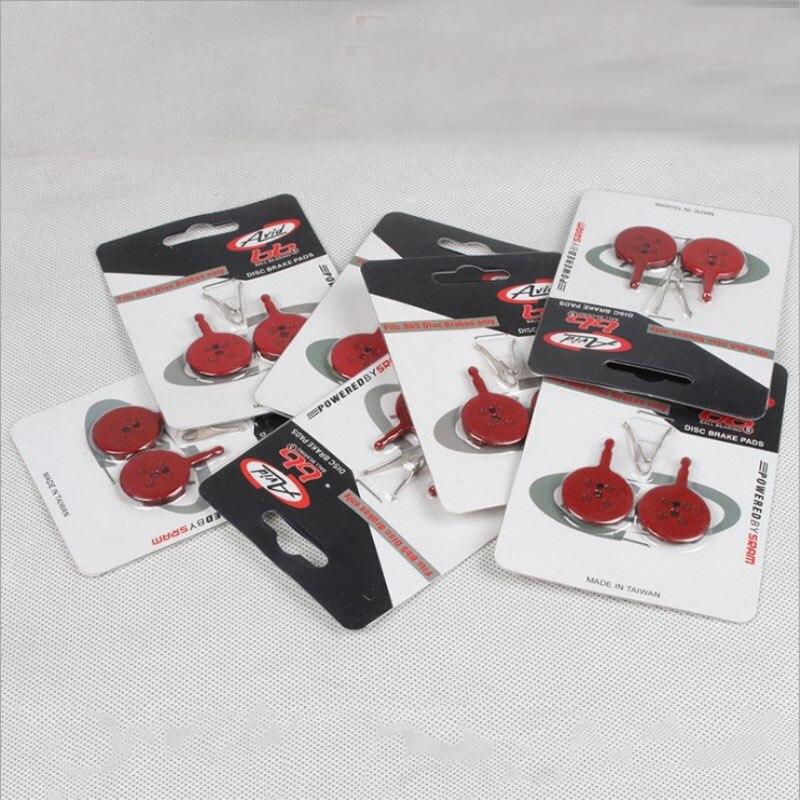 2Pairs MTB Motorbike Cycle Disc Resin Brake Pads Suit For Avid BB5