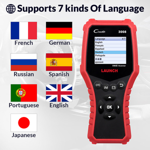Image 4 - LAUNCH Creader CR3008 Auto OBD2 EOBD code reader scanner CR 3008 for Engine Multi language PK KW850 diagnostic tool