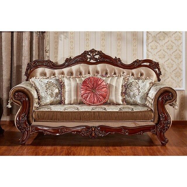 European Antique Living Room Sofa Furniture  2