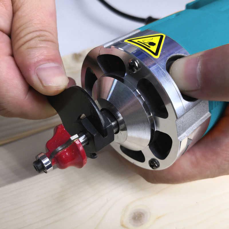 6 & 6.35mm elektrikli ahşap yönlendirici Collet laminat düzeltici Chuck ağaç İşleme araçları aksesuarları