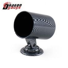 2inch Universal DRAGON Car-Gauge-Cup/single-Hole-Gauge 52mm Car-Meter-Holder/gauge-Bracket