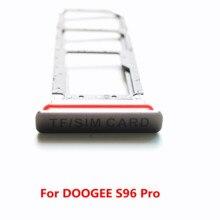 חדש מקורי כרטיס ה SIM בעל כרטיס בעל כרטיס ה sim מחזיק מגש כרטיס חריץ מגש קורא עבור DOOGEE S96 פרו טלפון