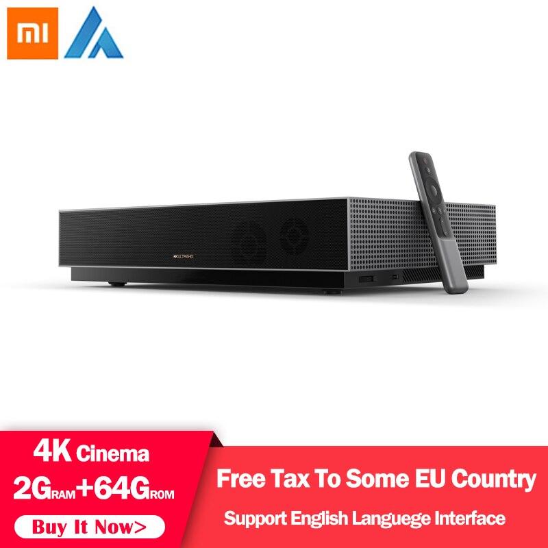 Original Xiaomi Fengmi projecteur Laser TV 4K cinéma 150 pouces 2.4G/5G Wifi Home cinéma 2GB 64GB MIUI Support TV HDR10 Dobby DTS