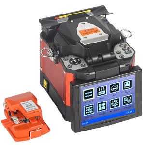 Splicer-Machine Ftth-Fiber A-80S Fiber-Optic Orange SM Welding Automatic