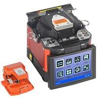 A 80S Orange Automatic Fusion Splicer Machine Fiber Optic Fusion Splicer FTTH Fiber Welding SM
