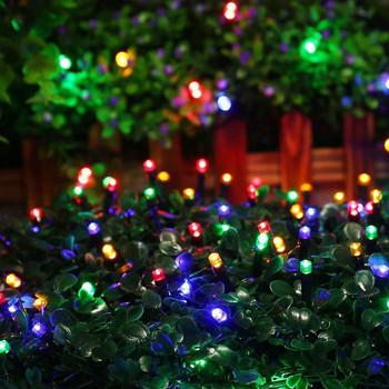 Oswietlenie ogrodu słonecznego dekoracja zewnętrzna lampa Led na energię słoneczną ogrodowa dekoracja świąteczna girlanda uliczna słoneczne światła zewnętrzne tanie i dobre opinie ZHEDLBL CN (pochodzenie) Z-592 Ip44 Z tworzywa sztucznego Klin Żarówki LED Nowoczesne HOLIDAY Ni-mh