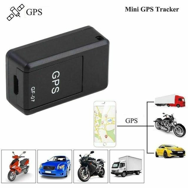 New Mini GPS Tracker GF07 GPS Locator Recording Anti-Lost Device Support Remote Operation of Mobile Phone GPRS Tracking Device 5