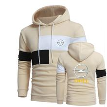 Men Hoodies Opel Sweatshirts Brand Autumn High Quality Hooded Jackets Casual MC Coat Cotton Male Hoodie Leisure Sportswear