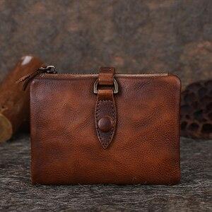 Prawdziwej skóry kobiet portfel portmonetka kobiet mały Portomonee portfel rfid pani portmonetki dla dziewczyn portfel Cartera Mujer