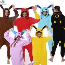 Hksng animal novo adulto kigurumi pijamas macacão bonito trajes unissex festa macacão pijamas presente de natal