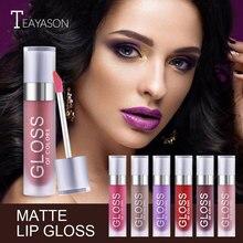 Makeup 15 Colors Matte Lipgloss Liquid Lipstick Waterproof Matte Liquid Pigments Lipstick Lip Gloss Pearlescent Matte Lipstick