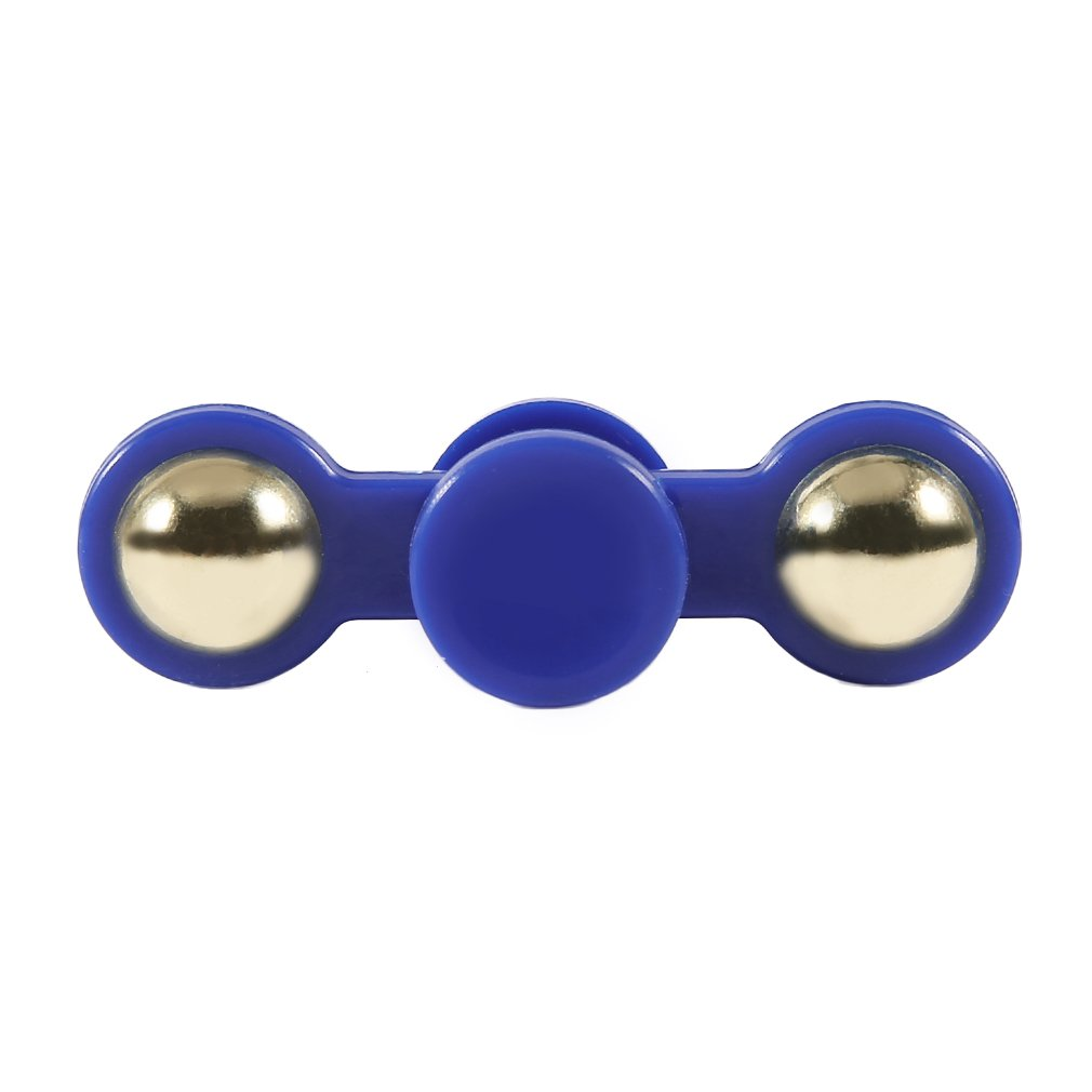 Two Ball Metal Bearing Hand Spinner Toy Anti Stress Autism ADHD Rotation Long Time Fingertip Toy For Kid Adult
