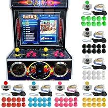 24PCS Arcade Spiel DIY Teil Kit Push Tasten Joystick Schalter USB Kabel Encoder Spiel Control Board Für Fenster 7 8 10 Raspberry Pi