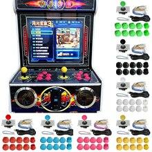 Kit de piezas de juego Arcade, 24 Uds., botones pulsadores, interruptor con palanca de mandos, Cables USB, codificador, tablero de Control de juego para ventana 7, 8, 10, Raspberry Pi