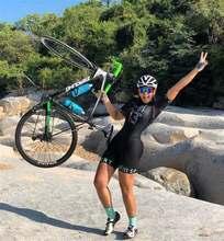 gel Kafitt new women short sleeve cycling jersey suit cycling team clothing mountain bike macaquinho ciclismo feminino