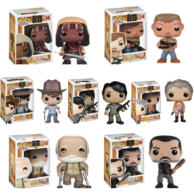 funko-pop-font-b-the-b-font-font-b-walking-b-font-font-b-dead-b-font-michonne-carl-action-figures-pvc-model-toys-gift-for-kids-birthday-christmas-gifts