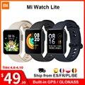 "Xiaomi Mi Watch Lite GPS Mi Smart Watch Global Version Smartwatch 2021 1.4"" TFT LCD Screen Fitness Heart Rate Sleep Monitor"