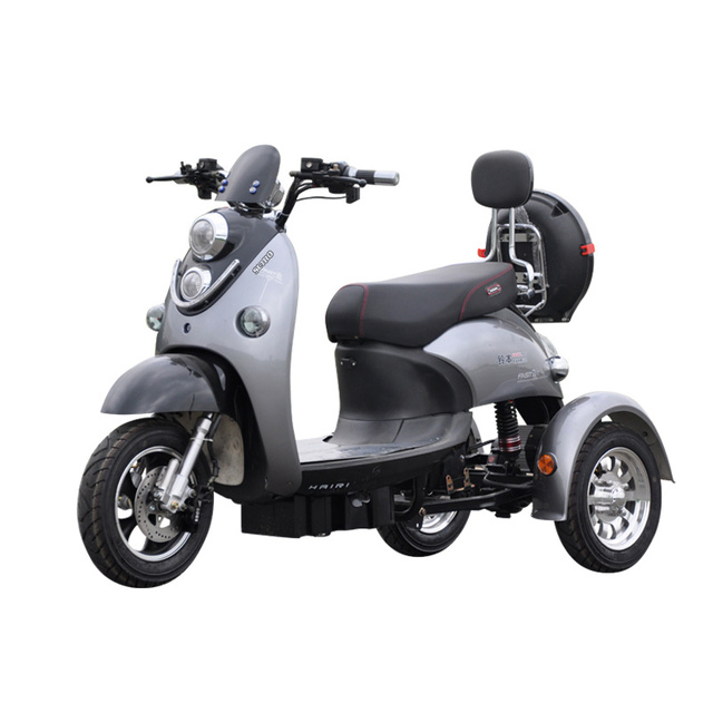 Adult Vespa Tricycle Fat Tire Electric citycoco Scooter With Seat Kcq Electric Scooter Electric 3 Wheels Motorcycle Road 2021 5