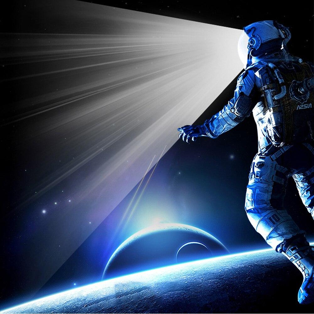 Led mini luz da noite usb astronauta