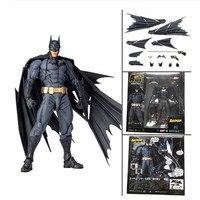 16cm DC Amazing Batman Dark Knight Yamaguchi Revoltech NO.009 Batman PVC Action Figure Collection Toy Gift