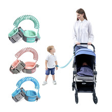 HIPAC 360 Toddler Baby Safety Harness Leash Kid Anti Lost Wrist Traction Rope Band Baby Walker Walking Hand Belt Child Harness(China)