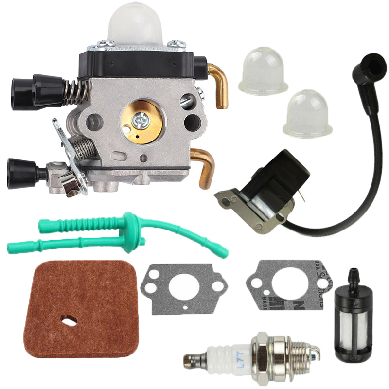 Carburetor Spark Plug Ignition Coil Replace For Stihl FS38 FS55R KM55 FS45 FS46 Highly Matched To The Original Device Tools Part