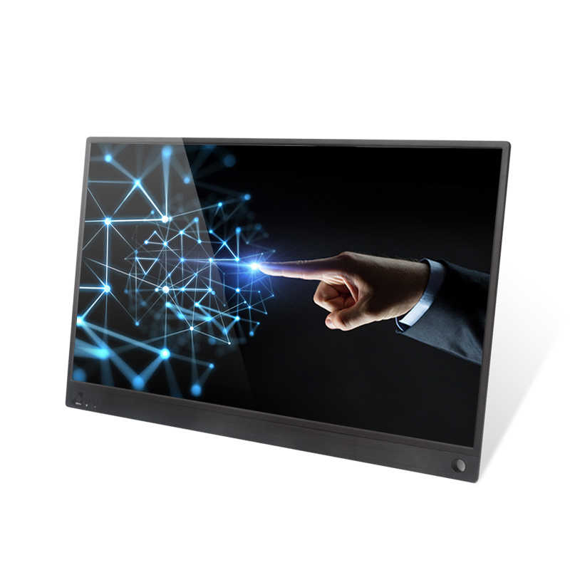 Портативный монитор 15,6 дюймов usb type C Hdmi игровой монитор ips 1080p HD дисплей для PS4 ноутбука телефона Xbox переключатель ПК чехол