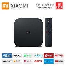 Globalny telewizor Xiaomi S 4K Ultra HD Android TV 2GB RAM 8GB ROM Smart TV Set Top WiFi Netflix Google Assistant odtwarzacz multimedialny