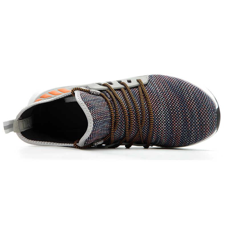 Mannen Werken Safty Laarzen Stalen Neus Anti Slip Ademend Beschermende Werk Schoenen Mannen Werken Laarzen Outdoor Punctie Proof Veiligheid schoenen