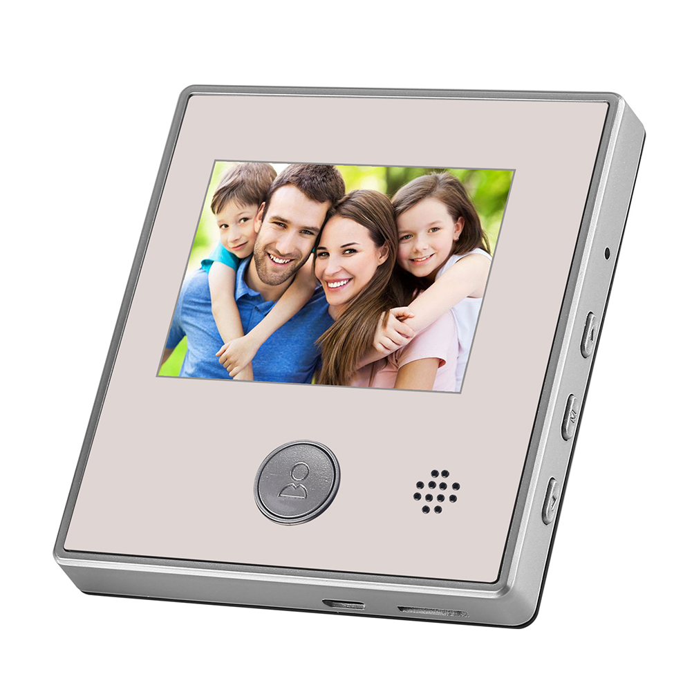 Image 3 - Night Vision LCD Display Peephole Aluminum Infrared Camera Anti theft Digital Viewer Intercom Video Doorbell Security 2.8 InchDoorbell   -