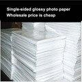 Оптовая продажа A4 100 листов фотобумага глянцевый принтер фотобумага глянцевая бумага для Цветной Струйной Печати офиса