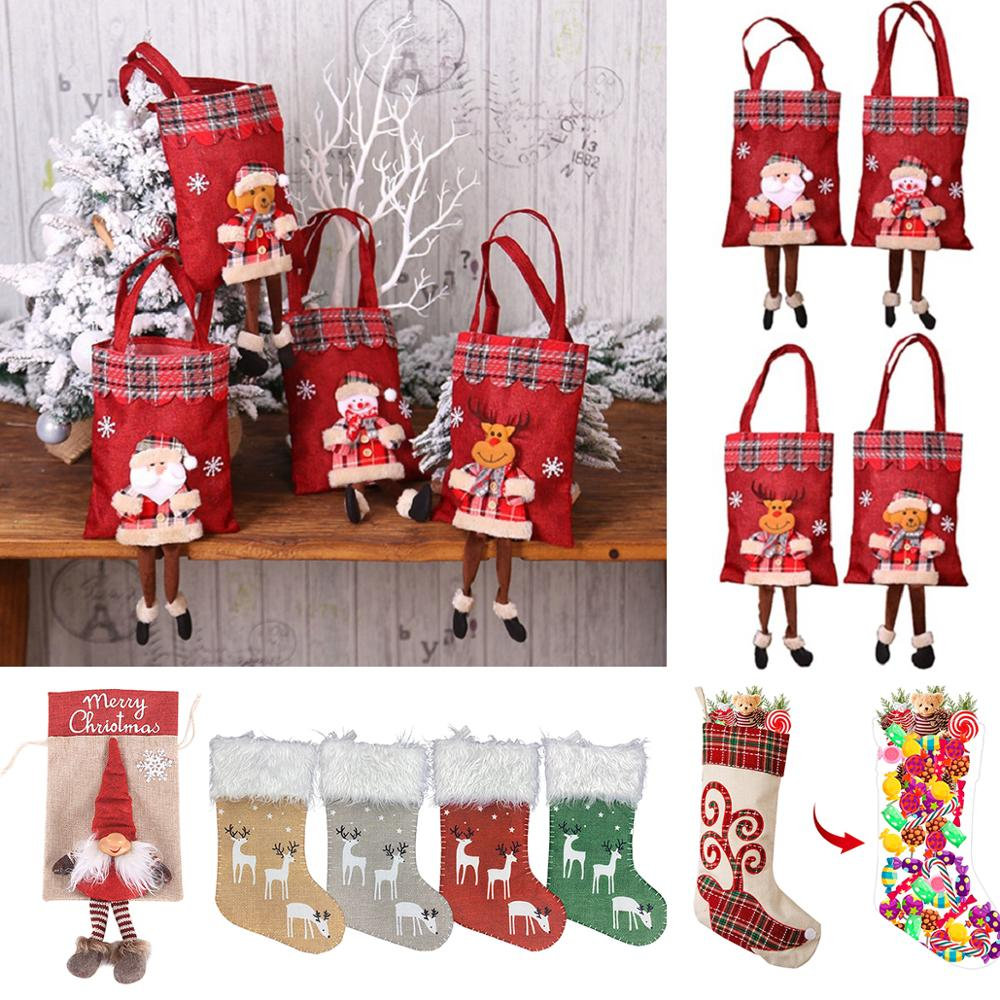 Top 8 Most Popular Santa Christmas Gift Bag Ideas And Get Free Shipping A842