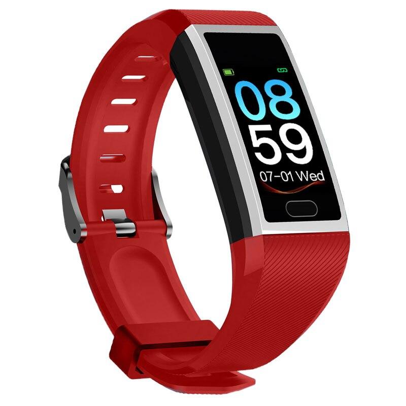 H1708681a29314cfc93712821563180b3C Fitness Bracelet Blood Pressure Measurement Waterproof Smart Band Bracelet Watch Fitness Tracker Heart Rate Activity Tracker