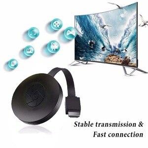 Image 3 - 2.4ghz 1080p hd wifi display dongle youtube airplay miracast tv vara para o google 2 3 cromo croma elenco cromost 2