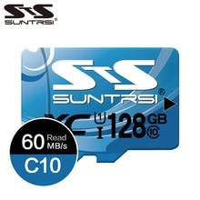 Suntrsi Microsd SD карта 256 ГБ 128 Гб карта памяти Мини TF карта класс 10 высокоскоростная Micro TF карта 64 ГБ реальная емкость