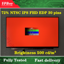 Original A+ 15.6 inch N156HCE-GN1 IPS 72% NTSC Brightness 500 cd/m² LCD Display Screen Matrix 30 Pins FHD Matte FRU 01YN165(China)