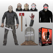 Original NECA Friday The 13th Jason Voorhees PartV Part5 UM Novo Começo Action Figure Boneca de Brinquedo(China)