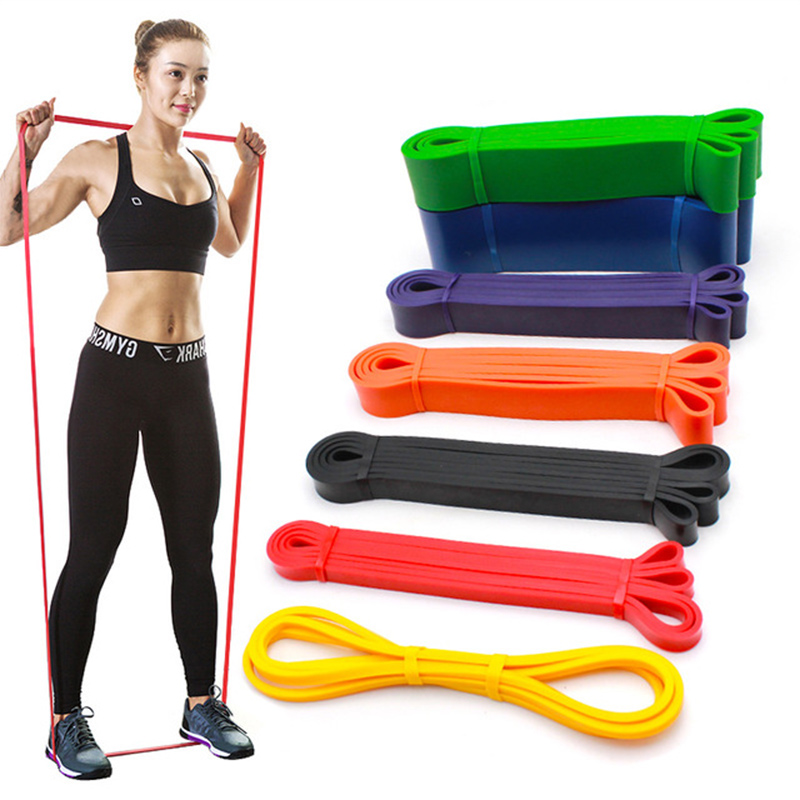 Resistance Band Exercise Elastic Pull Rope Workout Loop Strength Pilates Muscle Training Expander Unisex Fitness Equipment
