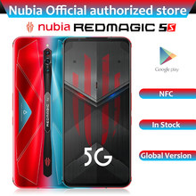 Globale Version ZTE Nubia Rot Magie 5S Gaming Handy 6,65 zoll 144Hz AMOLED 64MP Snapdragon 865 5G Wi-Fi 6 Smartphone