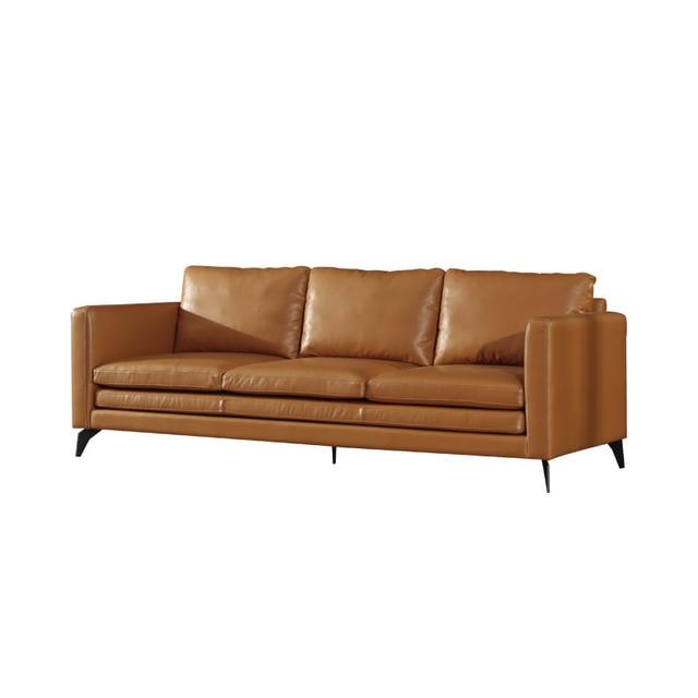U-BEST Italian Minimalist Three Person Sofa 4