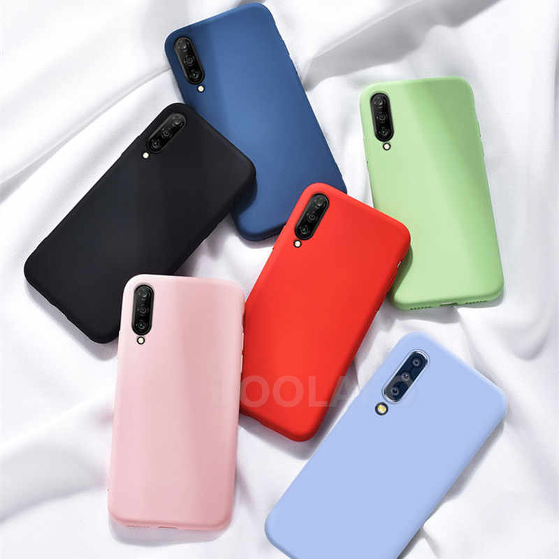 Soft TPU Case Voor Samsung Galaxy A50s A30S A20S A10S A60 A70 A40S A90 A80 note 10 S10 S8 S9 plus s10e candy kleur Cover Siliconen