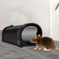 1/2/3 pces rato ao vivo armadilha sem matar plástico reusável pequeno ratoeira rato assassino matar ratos para jardim em casa