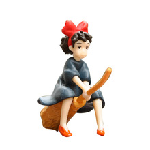 цена на Studio Ghibli Hayao Miyazaki Kiki's Delivery Service Action Figure Figurine Model Toy For Kids