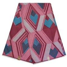 Отличная африканская Анкара Pagne Tissu настоящая Гарантированная голландская восковая ткань с принтом африканская настоящая голландская восковая модная Ткань 6 ярдов