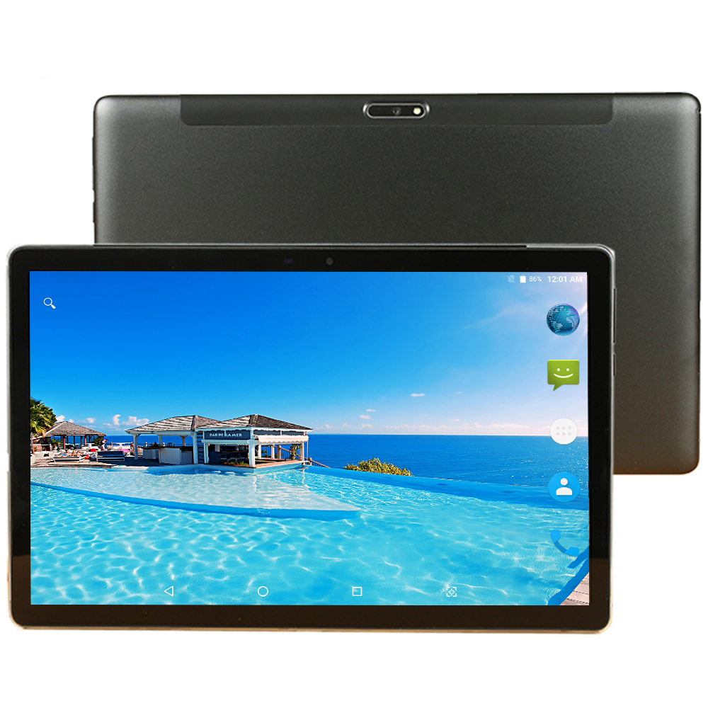 CARBAYTA 11.6 Inch Tablet 2 In 1 1920*1200 8000mAh Deca Core Android 9.0 Tablet Pc 4G Lte 8 GB RAM 128GB ROM Dual Cameral 13MP
