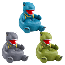 Learning-Chair Sofa-Seat Plush-Toy Dinosaur Gift Lazy Small Baby Creative Children's