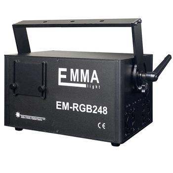 3d Rgb Laser 3 w światła dj-skie Dmx + Ilda + karta Sd wielokolorowy 3 Watt 1200 rodzajów animacji projektor wiązki tanie i dobre opinie EMMA CN (pochodzenie) Efekt oświetlenia scenicznego Oświetlenie sceniczne DMX 100 w EM-RGB 248 EM-RGB246 90-240 V Profesjonalne stage dj